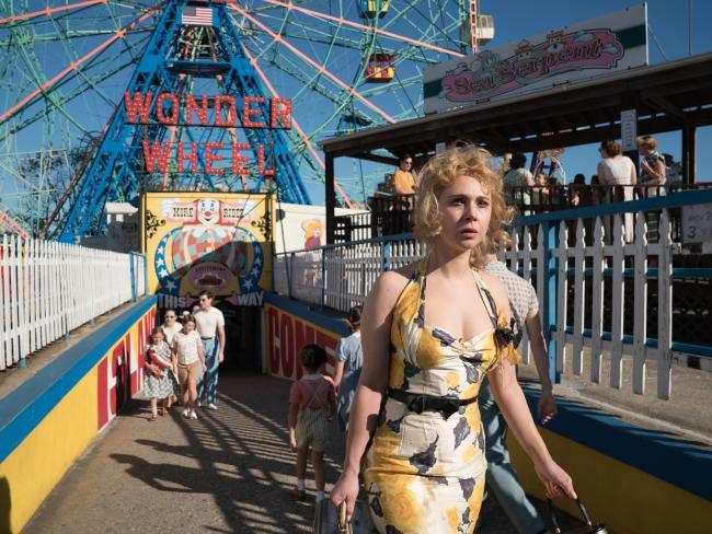 woody allen, wonder wheel, film, movie, coney island, new york