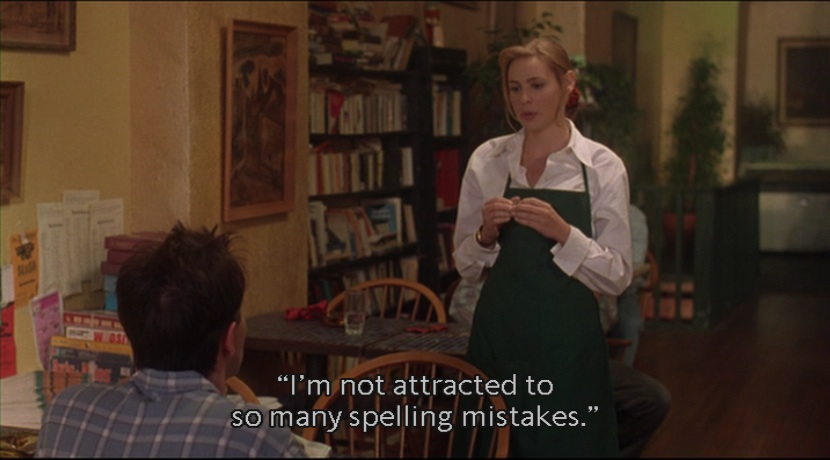 Kicking and screaming, 1995, filmquote, quote, moviequote